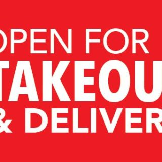 Open for TakeOut Banner