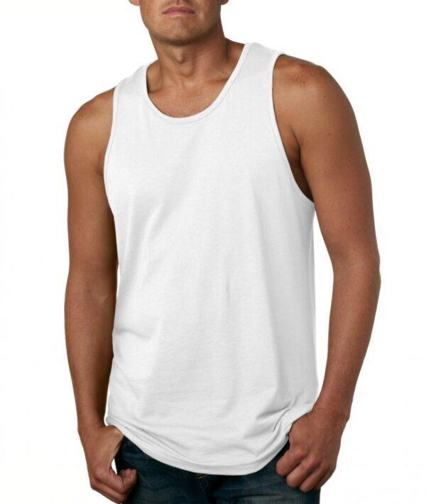 Men's Tank Top - White