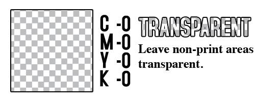 CMYK Transparent
