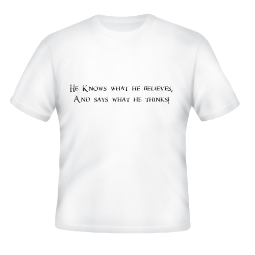 He Knows Tshirt